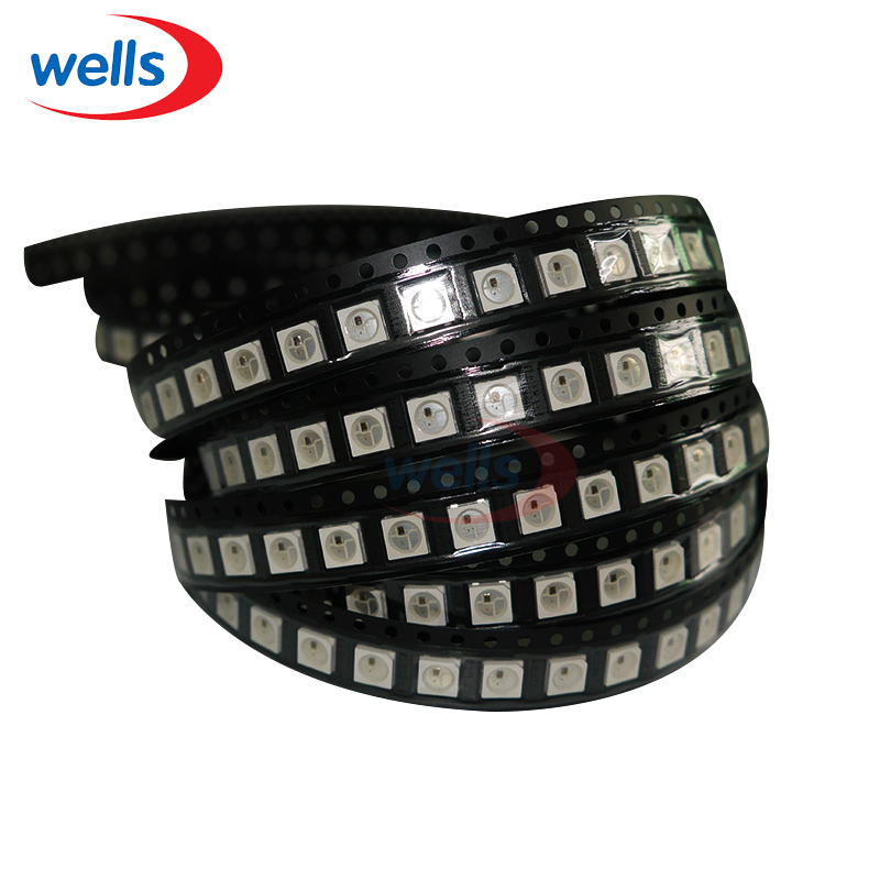 Mini Order 100pcs WS2812B LED Chip WS2811 New Section Chips Large Stock For Strip Screen