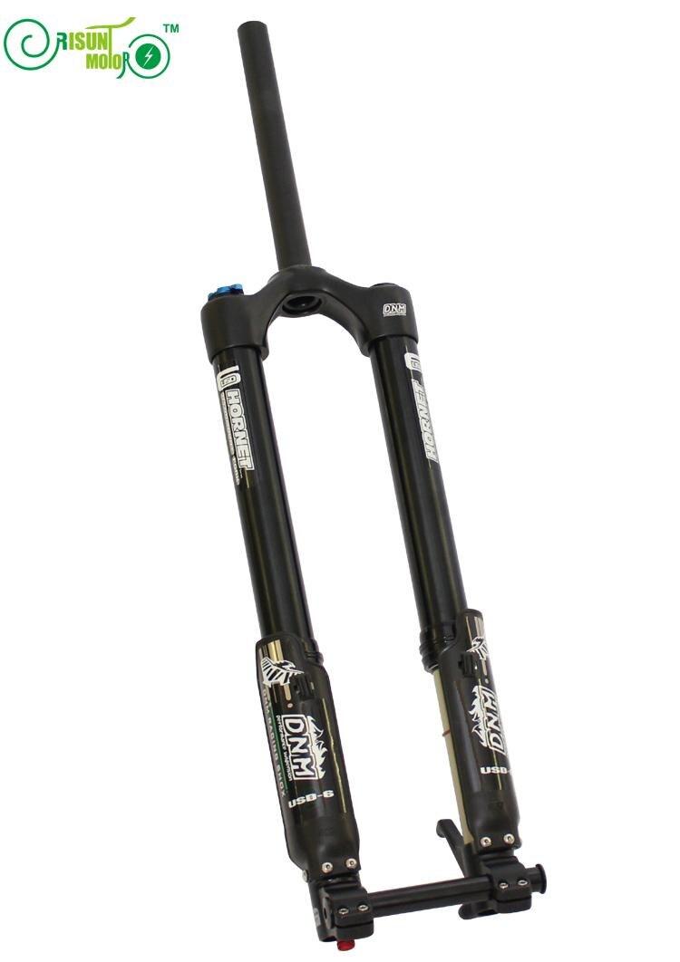 ̿̿̿(•̪ )Envío libre ebike Front Tenedores DNM usd-6 montaña ...