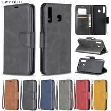 Luxury bracket flip holster for Samsung Galaxy A20E A10E A10/M10 A20/A30A40 A50 A70 M30 M20 faux leather phone case