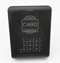 Door 125KHz RFID ID Card Reader Keypad Access Controller With Door Bell Button Blue Backlight