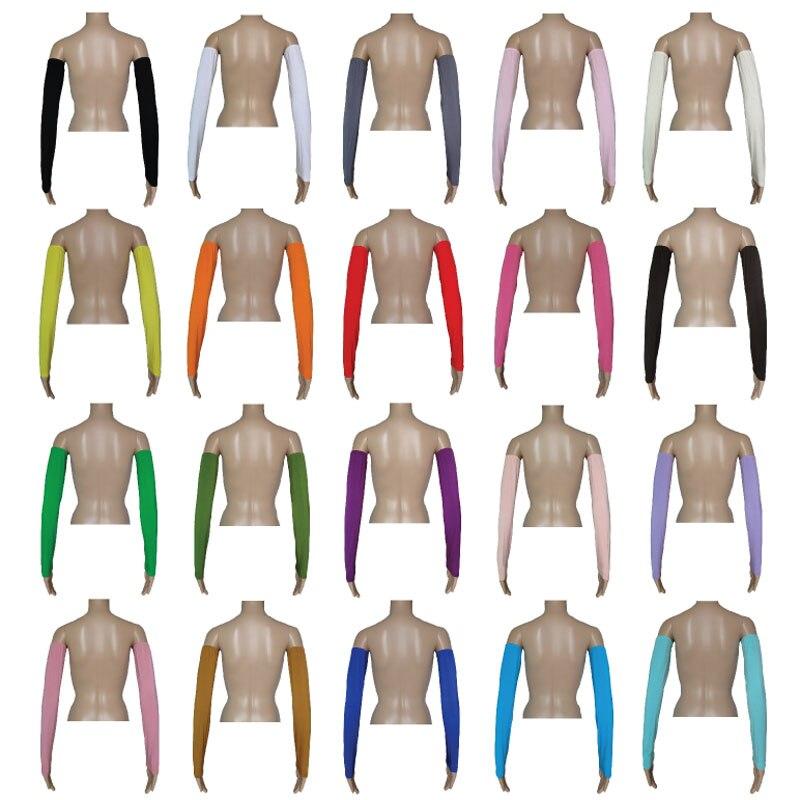 12 pièces hommes femmes bras plus chaud manches été soleil UV Protection cyclisme course pêche Clambing conduite musulman bras couverture couleur aléatoire