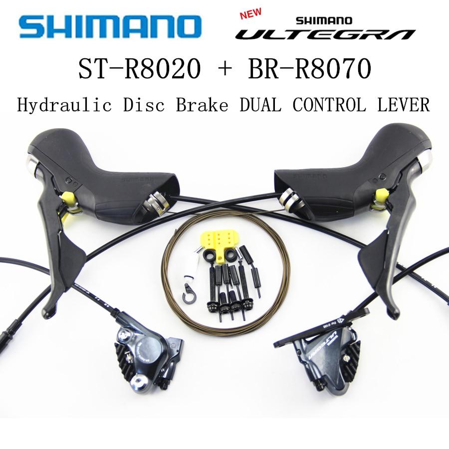 Groupe SHIMANO ULTEGRA R8020 105 R8020 dérailleurs de frein à disque hydraulique vélo de route R8020 R8070 manette de vitesse dérailleur avant et arrière
