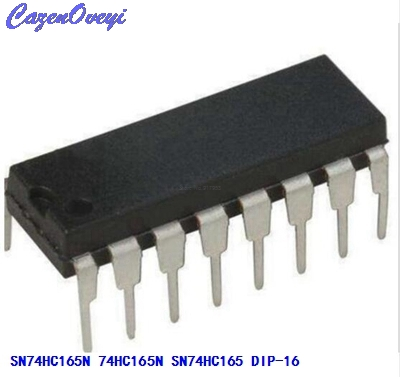 10pcs/lot SN74HC165N <font><b>74HC165N</b></font> SN74HC165 DIP-16 Logic Gates QUAD 2-INPUT AND GATE new original In Stock image