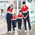Autumn Winter Family Matching Outfits Mother Daughter Dad Son Baseball Fashion Clothes Family Character Casual Sportswear Suits