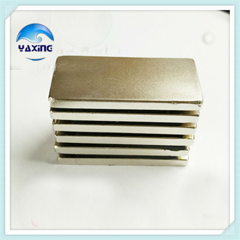 1PCS block magnet 60 x 30 x 5mm Super Strong Rare Earth Permanet Magnet Powerful  Magnets  60*30*5mm neodymium magnet n35 2015 20pcs n42 super strong block square rare earth neodymium magnets 10 x 5 x 1mm magnet wholesale price