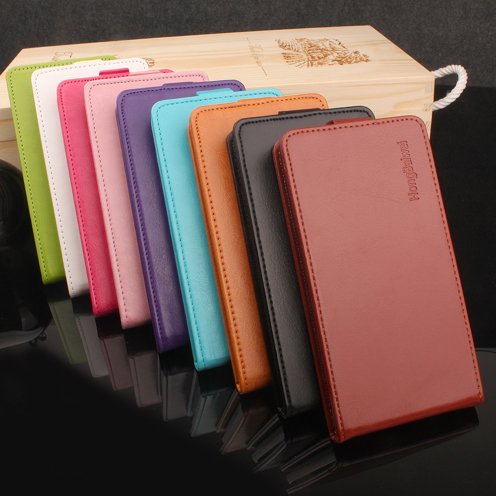 HongBaiwei for Cubot Manito Case Luxury Flip Leather Cover Case for Cubot Manito 5.0 inch Vertical Back Cover Flip Up and Down