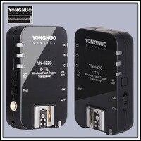 Yongnuo YN622c YN 622 YN 622 E TTL wireless flash trigger transceiver for canon 500d 600d 700d 1300d 1d3 5d3 camera flash light