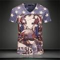 2016 Новые поступления марка одежда 3D Отпечатано Thundercat Футболки бесстрашный котенок кошка играет с молнии футболки harajuku тройники