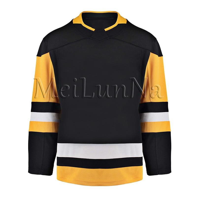 Sidney Crosby Kris Letang Evgeni Malkin Mario Lemieux Matt Murray Jake Guentzel Patric Hornqvist Pittsburgh Blank Hockey Jersey