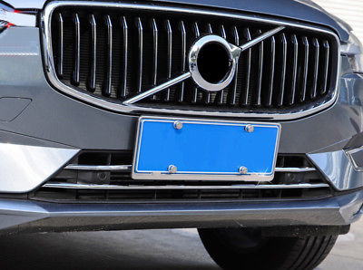 ABS Front Radiator Bumper Grille Lower Mouldings 3PCS For Volvo XC60 2018