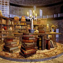 Laeacco фото фон старая деревянная полка книга череп свечи лаборатория