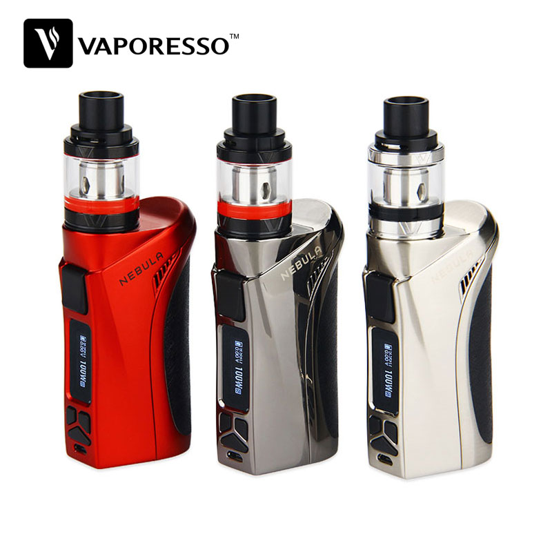 Original 100W Vaporesso Nebula TC Kit Veco Tank 2ml Electronic Cigarette EUC coil 0.2ohm vs Nebula Box MOD 100W vs istick Pico