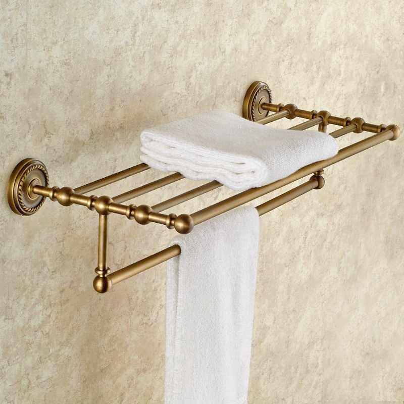 Набор аксессуаров для ванной комнаты, антикварный латунный крючок для халата, вешалка для полотенец, барная полка, держатель для бумаги, держатель для зубной щетки, аксессуары для ванной комнаты