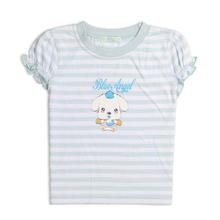 2-8 Years-Old Children GirlsT Shirt Printed Tops in 100% Cotton