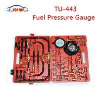 2018 Best Price TU 443 Fuel Pressure Gauge Engine Testing Kit TU443 Fuel Injection Pump Tester TU 443with Retail Carry Case