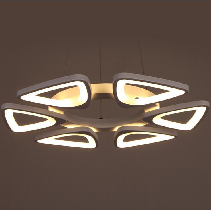 Современный минималистичный светодиодный офисный полый шестигранный люстра креативная индивидуальная сотовая подсветка геометрическая