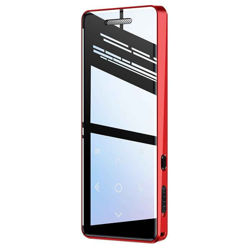 Player de Música Walkman com fm Gravador de Voz Yescool Bluetooth Alta Fidelidade Esportes Flac Vídeo Imagem Revisão Alto-falante x5 Mp3