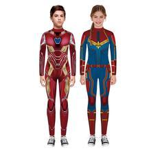 Kids Boy Girl Spider-man Cosplay Costume Zentai Suit Child S