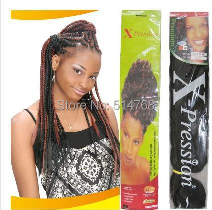 82 inch 165G X-Pression ULTRA BRAID afro super jumbo braid, synthetic hair extension  -  Yiwu Will Fashion Shop store