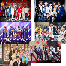 BTS Poster Clear Image Wall Stickers Home Decoration Good Quality Prints White Coated Paper home art Brand (China)