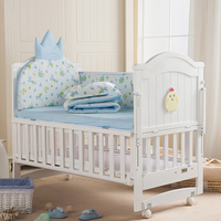 0 6 year baby bed children's bed solid wood baby crib multifunctional baby cribs can be lengthened baby cot