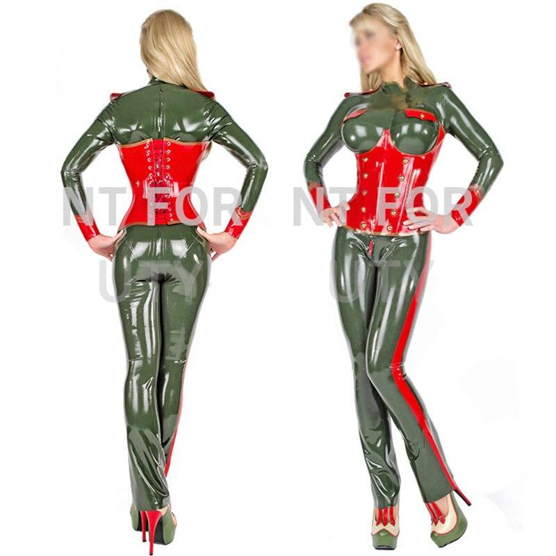 Латекс комбинезон с корсетом для женщин фетиш костюмы sexy cosplay 100% натуральное ручной работы