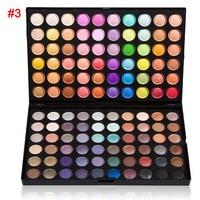 Makeup Earth Color Eyeshadow Palette Glitter Eye Palette Matte Silky Pigments Eye Shadow 120 Colors Eyeshadow