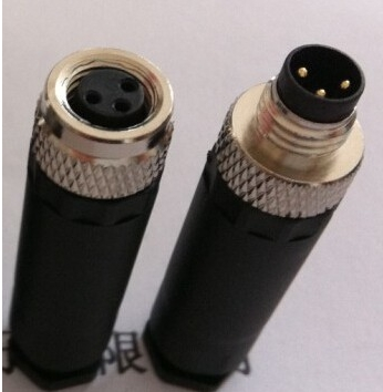 online get cheap m8 connector aliexpress com alibaba group 5pairs m8 3 pin locking connectors aviation plug socket male female wire panel connector adapters