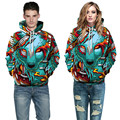 Mens funny 3D galaxy digital wolf Skull Fire baseball hoodies Sweatshirt For Women Men Sweethearts outfit hip hop clothing