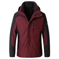 Плюс размер 8XL 7XL 6XL 5X Брендовые куртки Для мужчин Повседневное военные Курточка бомбер Для мужчин модные простые морозостойких бурелом 2 шт.