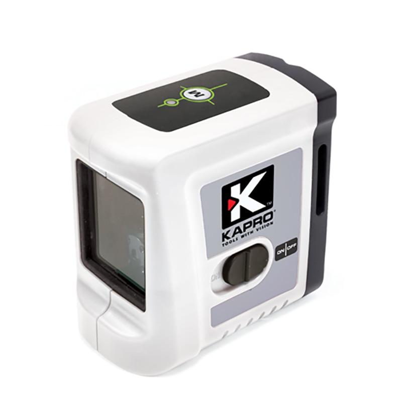 все цены на KAPRO Professional High Quality Self-leveling 2 Lines Red/Green Light Laser Level Meter With Magnet Cross Beam Laser Instrument