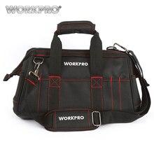 WORKPRO 16″ WaterProof Tool Bags Tools Organizer Electrician Tool Kits Bag