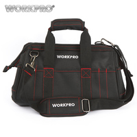 Workpro 16 Close Top Wide Mouth Storage Bag With Water Proof Rubber Base