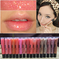 2016 Brand New 9 Colors Diamond Sand Gold Liquid Lipsticks Nude Makeup Batom Matte Lipstick Moisturizer Nutritious Lip Gloss