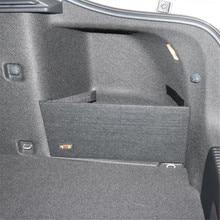 Для skoda Octavia II A5 A7 посылка для хранения багажника Специальная большая сумка для хранения черного цвета простая перегородка для хранения 2 шт