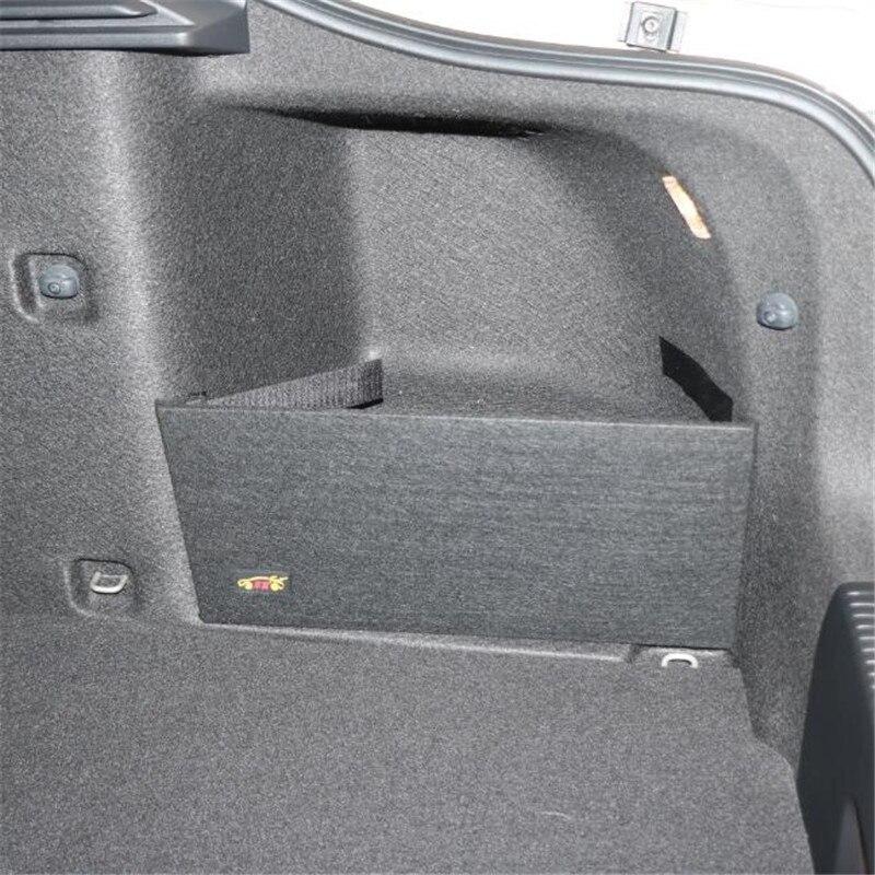 Per skoda Octavia II A5 A7 Tronco di stoccaggio pacchetto speciale sacchetto di stoccaggio di grandi dimensioni di colore nero di archiviazione Semplice partizione 2 pezzi