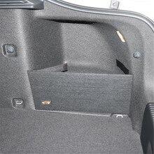 Skoda Octavia II için A5 A7 gövde depolama paketi özel büyük depolama siyah renk çanta basit depolama bölümü 2 adet