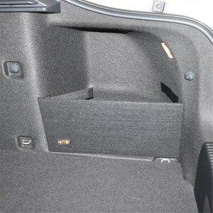 Image 1 - Skoda octavia ii a5 a7 트렁크 스토리지 패키지 특별 대형 스토리지 블랙 컬러 백 간단한 스토리지 파티션 2 개