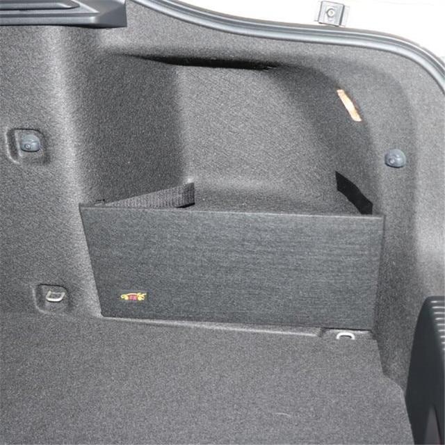 Для skoda Octavia II A5 A7, посылка для багажника, Специальная большая черная сумка для хранения, простая перегородка для хранения, 2 шт.