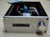 Terminado de alta fidelidade f6 pga2310 preamp três estrada entrada amplificador memória manual remoto