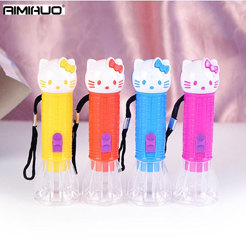 AIMIHUO Mini Flashlight CREE Q3 1000 Lumens LED Flashlight Torch Lantern AA Battery Torch Linterna LED Plastic Hard Light Lamp
