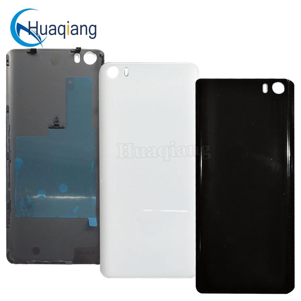 imágenes para 100% Original Para Xiaomi mi5 Volver cubierta de Cristal Trasera de Vivienda de Reemplazo Caso de la Cubierta de La batería para Xiaomi mi5 Volver Reemplazo