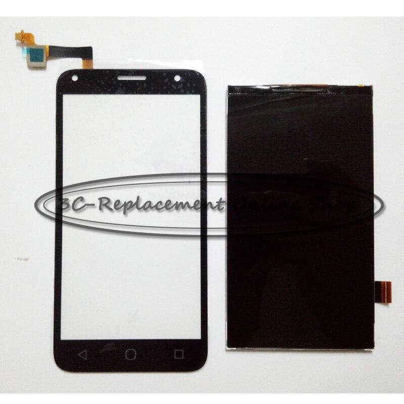 imágenes para Blanco/negro para alcatel one touch pixi 4 5.0 ot 5010 OT5010 5010D 5010E 5010G OT-5010 Pantalla LCD y Del Digitizador Del Tacto pantalla