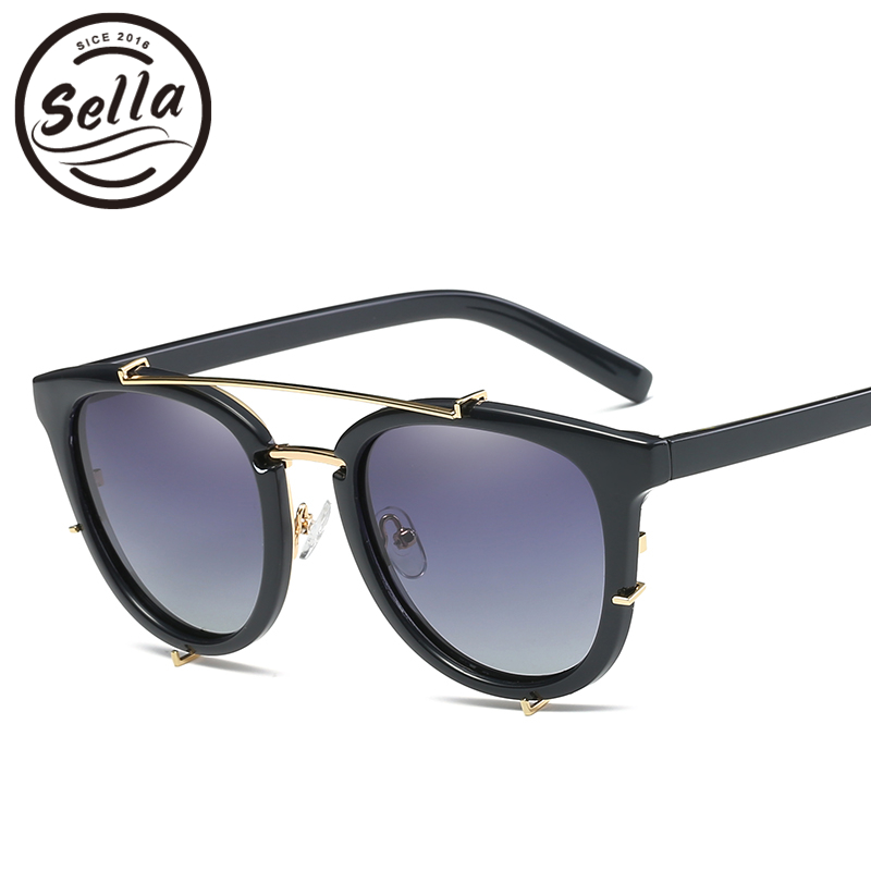 Sella Fashion Polarized Sunglasses New Arrival Colorful Cateye Women Sun Glasses Summer Trending Ladies Super Light Eyewear