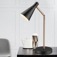 Nordic bedroom bedside table lamp modern simple designer art creative personality led work reading lamp