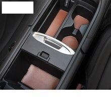 цена на Lsrtw2017 Fiber Leather Car Interior Anti-slip Mat Door Slot Mat Water Cup Mat for Acura CDX MDX TLX-L 200-2020 2019 2018 2017