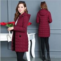 Winter Jacket 2019 Female Parka Cotton winter Jacket woman Plus Size 5XL Long Hooded thin Parkas autumn Coat Women Outwear G138