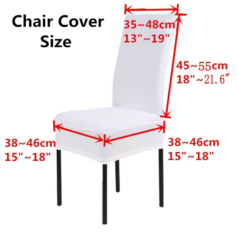 Dining Room Decoration Jacquard Chair Covers Spandex Fabric Machine Washable Hotel Wedding Party Banquet Slipcovers In Cover From Home Garden