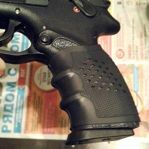 Image 5 - אנטי להחליק טקטי אקדח גומי גריפ סטי ציד אביזרי אקדח ידית גלוק כיסוי שחור צבאי לביש הגנת סט