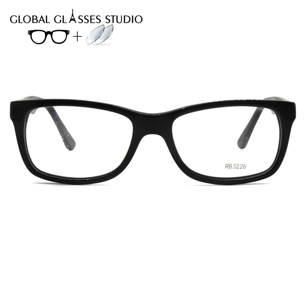 Myopie Lesen Acetat Brillen Brille 56 Rb5228al Männer Rezept Objektiv Rahmen 56 1 Rb5225al Index Freizeit 1 HxX5qY